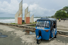 Tuk Tuk Matara_Sri Lanka (Dan Bernard 131 Design) Tags: dutch architecture town monsoon srilanka southcoast matara imagesofsrilanka beautifulasia photogrpahsofsrilanka travelphotographyinsrilanka exoticasia travelphotographyinasia