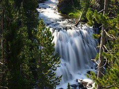 Kepler Cascades-Yellowstone National Park-Wyoming (mikemellinger) Tags: trees west nature water beauty forest landscape waterfall nationalpark scenery rocks stream famous yellowstonenationalpark yellowstone wyoming keplercascades