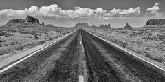 The Road to the Old West (Jeff Clow) Tags: road arizona landscape monumentvalley theoldwest tpslandscape