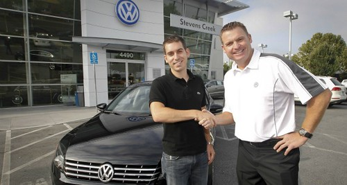 The first 2012 Passat is sold in San Jose, CA