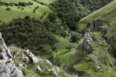 Wolfscote Dale (Keartona) Tags: summer england white green river landscape woods dale path district dove derbyshire rocky peak september limestone sloping slopes crag wolfscote