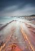 Stormy Morning II (Fakrul J) Tags: ocean morning sky cloud seascape beach sunrise canon eos rocks stormy shore malaysia dreamy terengganu manfrotto longexposures 500d canonefs1022mm dungun gnd leefilters tanjungjara bigstopper fakruljamil wwwfakruljamilcom 9sgnd