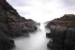 Corridor.. (sgrazied) Tags: ocean longexposure scotland highlands mare cliffs scozia skyeisland lungaesposizione 10stop filtrond
