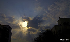 Wake Up Sid! (McGun) Tags: morning sky sun saturday rays chennai