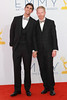 Justin Mikita and Jesse Tyler Ferguson 64th Annual Primetime Emmy Awards, held at Nokia Theatre L.A. Live - Arrivals Los Angeles, California