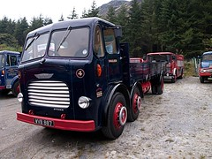 WVB 897  1959  Leyland Steer  Llechwedd Slate Quarry (wheelsnwings2007/Mike) Tags: road museum wales heart run slate steer quarry 1959 ffestiniog 2012 leyland the llechwedd blaenau 897 wvb