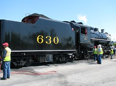 Southern 630 at Birmingham, Alabama (bluerim) Tags: alabama birminghamal norfolksouthernrailroad tvrrmuseum consolidationlocomotive 21stcenturysteam