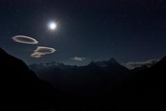 One night in bivouac (breedingfra) Tags: blue sky mountain night clouds landscape nocturnal sleep dream universe granparadiso bivacco bivouac grivola nomenon