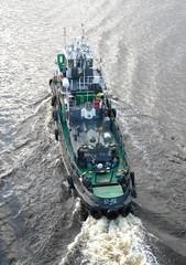 BT-456 - -456 (Victor_N_Dashkiyeff) Tags: river vessel ukraine tugboat tug kiev kyiv ussr onthebridge