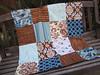 bluebird baby blanket (sewfunbymonique) Tags: bird amybutler alexanderhenry valoriwells joeldewberry