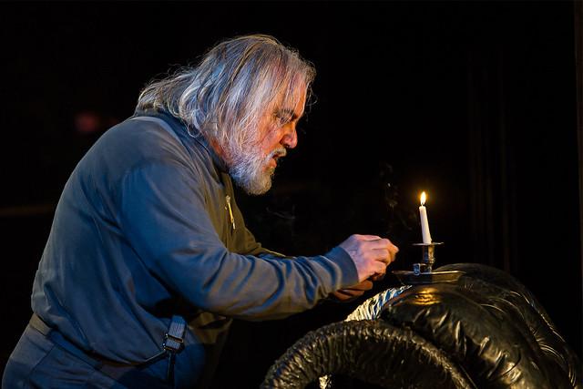 John Tomlinson as Hunding in Die Walküre © Clive Barda/ROH 2012