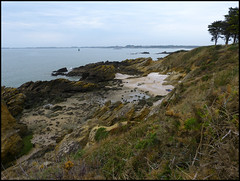 se promener ou s'y poser (doubichlou) Tags: world france landscape brittany bretagne breizh what coastline pointe morbihan littoral billiers penlan