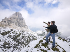 Hiking in the Swiss Alps (daniel.frauchiger) Tags: snow alps schweiz switzerland hiking hike panasonic m43 gf1