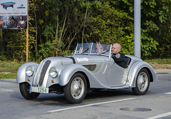 BMW 328 (1940) (The Adventurous Eye) Tags: classic car race climb do hill 1940 328 brno bmw rallye cabriolet závod soběšice vrchu brnosoběšice