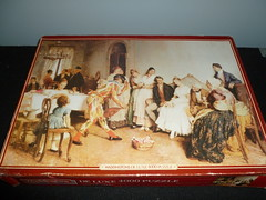 "4000 piece puzzle, ""The Wedding Breakfast,"" by Eugene de Blaas, Waddingtons, England. (Billsville Mike) Tags: old wedding england mike breakfast de games eugene puzzle jigsaw piece rare 4000 waddingtons blaas billsville"