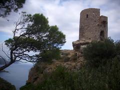 zum Turm-to the tower (Anke knipst) Tags: spain mallorca spanien majorca piraten tramuntana wachturm banyalbufar torredesverger