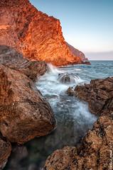 Futura foto...... (Carlos J. Teruel) Tags: sunset mar mediterraneo tokina murcia cielo cartagena rocas marinas d300 xaviersam singhraydarylbensonnd3revgrad carlosjteruel