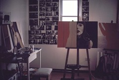 glimpse of a painters studio (philippines) (pixelwelten) Tags: portrait inspiration art analog mediumformat painting kunst hamburg sensual nah analogue delicate intimate mittelformat nachhaltig rdigerbeckmann beyondvanity jenseitsvoneitelkeit