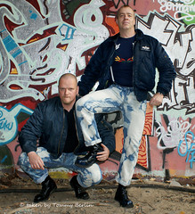self1083 (Tommy Berlin) Tags: men boots jeans levis bleached skinhead stiefel