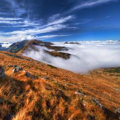 Tatry - Czerwone Wierchy (Mariusz Petelicki) Tags: clouds hdr tatry tatramountains tatryzachodnie czerwonewierchy 2x3xp vertorama