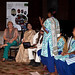 UN Women Executive Director Michelle Bachelet attends a presentation by solar engineers from India's Barefoot College