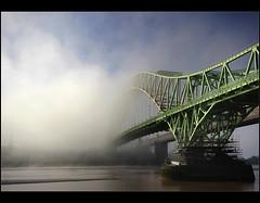 More........ (Digital Diary........) Tags: bridge mist dawn mood drama runcorn merseyside widnes thefog intonothing