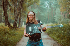 IMG_5447 (rodinaat) Tags: longhair longhairman longhairedman longhaired beard bearded metal metalhead powermetal trashmetal guitar musican guitarplayer brutal forest summer sun