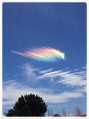 Rainbow Cloud (Franz 95) Tags: cloud rainbow sky beautiful colors nuvola arcobaleno cielo