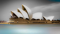 Sydney Opera House (Martin Snicer Photography) Tags: travel sydney australia sydneyoperahouse architecture design building art artistic canon 50mm niftyfifty 6d longexposure ndfilter water