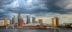 Tampa, Florida (ap0013) Tags: tampa florida skyline sunset city cityscape hdr storm stormy thunderstorm fla fl tampaflorida tampaskyline downtown urban unitedstates
