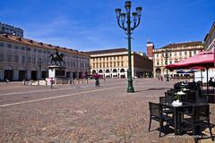 Piazza San Carlo (doveoggi) Tags: 9197 city italy piedmont turin piazzasancarlo piazza