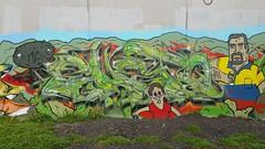 Gheto... (colourourcity) Tags: gheto tfh joiner big bunsen burners letters graffiti melbourne awesome streetartaustralia streetart colourourcity colourourcitymelbourne nofilters