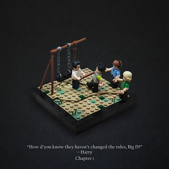 Big D (Vaionaut) Tags: harrypotter orderofthephoenix harry dudley exterior playground lego magic