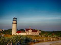 Highland Light (piranhabros) Tags: postcard lighthouse truro highland capecod hdr morning