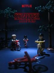 Lego Stranger Things Poster (StarSaberSlash) Tags: lego strangerthings netflix series poster mike dustin lucas