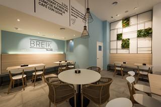 Zona de mesas | Breik cafetería - degustación