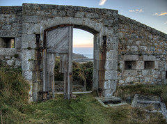 A gate of Fort Tourgis , on Alderney (neilalderney123) Tags: 2016neilhoward alderney tourgis gate fort architecture