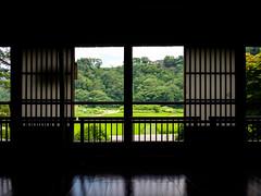 Travelling to Toyama - Inside of the Gassho-zukuri house (J_Fish) Tags: japan gifu shirakawago rural green silhouette ricefield worldheritage travel fuji xe2