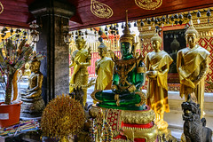 Doi Suthep, Thailand, Green Glass Buddha (Anoop Negi) Tags: doi suthep wat phra that buddha green glass sitting meditation chaingmai thailand religion buddhism thai golden standing photo photography anoop negi travel ezee123