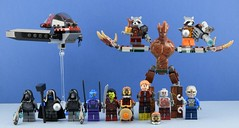 Welcome to the galaxy ! (Alex THELEGOFAN) Tags: lego guardians of the galaxy legography minifigures marvel minifigure movie minifig minifigs minifigurine super heroes sakaaran gotg ronan accuser star lord starlord mask jacket side buttons gamora 76021 milano spaceship rescue drax 76020 knowhere escape mission rocket raccoon orange outfit nebula groot 76019 starblaster showdown nova corps officer