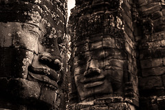 Wisdom Of Ages (Marshall Ward) Tags: bayon angkorwat cambodia sculpture art ancient wondersoftheworld asia southeastasia marshallward nikond800 afszoomnikkor2470mmf28ged landscape 2016