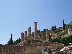 Eternal (Nathalie_Dsire) Tags: eternal column stone building architecture kodak greece delphi summer force power light sun august travel travelling tour peloponnese tough strong monument