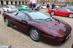 1997 Jaguar XJ220 (cerbera15) Tags: pirelli prestige performance 2016 blenheim palace salon prive jaguar xj220