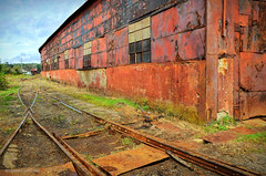 Crusty (gregador) Tags: warren pa railroad rust crusty decayed industry