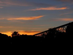Derniers rayons - Afterglow (Jacques Trempe 2,410K hits - Merci-Thanks) Tags: caprouge quebec canada viaduc soleil rayon ray sun afterglow nusge cloud