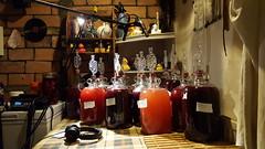 13 gallon kitchen (Jacob Whittaker) Tags: wine winemaking homemade fermenting kitchen demijohns aberteifi ceredigion