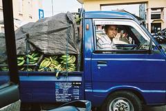 Banana transporter (pacco_racco) Tags: smoking transporter street color leicasummicron35mmf20asph kodakporta400 bali