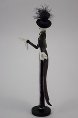Couture de Force Jack Skellington Figurine by Enesco - Disneyland Purchase - Full Right Side View (drj1828) Tags: us disneyland dlr 2016 figurine nightmarebeforechristmas sally couturedeforce purchase enesco