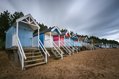Wells-next-the-sea *Explore* (sarah_presh) Tags: wellsnextthesea beachhuts beach seaside coast longexposure leefilters 10stopfilter nikond750