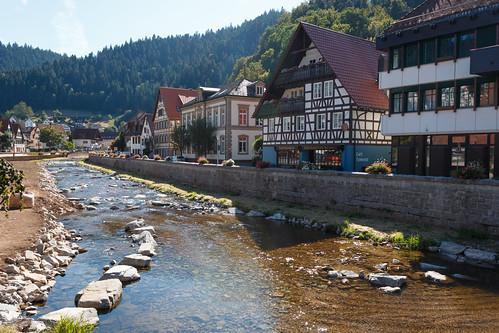 La Kinzig à Schiltach